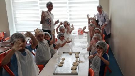 Mavişehir Okyanus Koleji Okul Öncesi Yunuslar Grubu Aile Katılımı Etkinliğinde