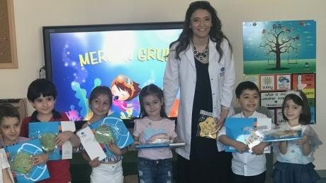 Mimarsinan Okyanus Koleji Okul Öncesi Kademesi 2017-2018 Eğitim-Öğretim Dönemini Sevinçle Bitirdi