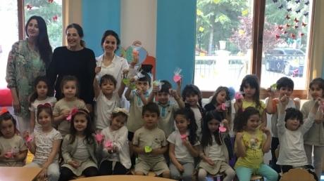 Mimarsinan Okyanus Koleji Okul Öncesi Yıldızlar Grubu Aile Katılımı Etkinliğinde