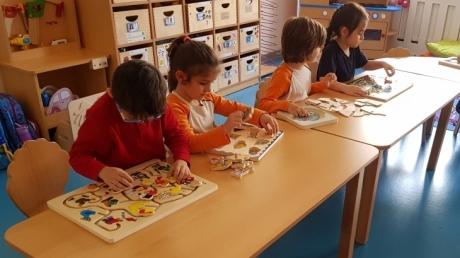 Mimarsinan Okyanus Koleji Okul Öncesi Yunuslar Grubu Okuma-Yazma Etkinliğinde