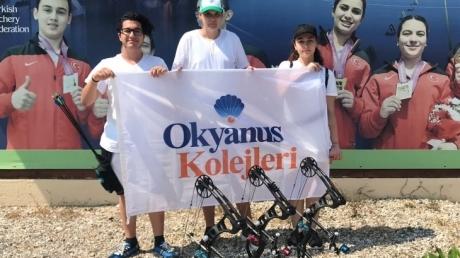Nilüfer Okyanus Koleji Okçuluk Branşında Türkiye Şampiyonasında