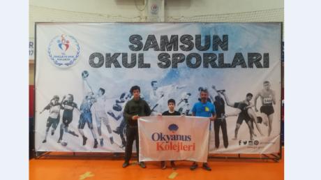 Nilüfer Okyanus Koleji Spor Tırmanışı Türkiye Birinciliği Yarışlarında