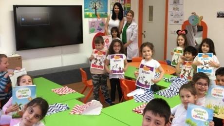 Okul Öncesi Bulutlar Grubu Öğrencileri Aile Katılım Etkinliğinde