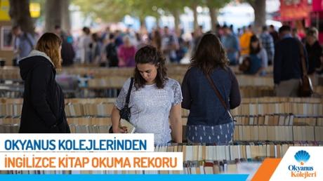 Okyanus Kolejlerinde Yeni Bir İngilizce Kitap Okuma Rekoru