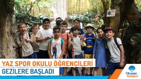 Yaz Spor Okulu Öğrencileri Gezilere Başladı