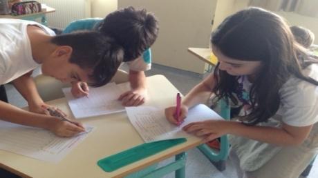 3. ve 4. Sınıfların Life Skills Dersinde Anket Etkinliği