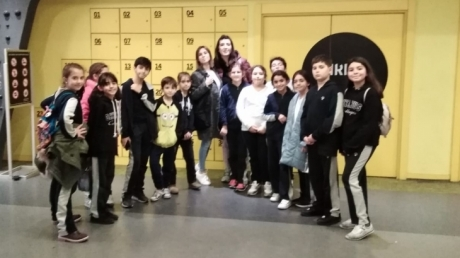 Beykent Okyanus Koleji Ortaokulu öğrencileri, 23 Kasım 2018 Cuma günü Rehber öğretmeni Yeşim SOYLAMIŞ eşliğinde Gayrettepe Metro İstasyonunda gerçekleşen Karanlıkta Diyalog gezisine katıldılar.