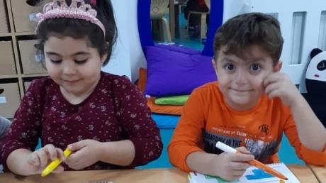 Adana Okyanus Koleji Okul Öncesi Yıldızlar Grubu Düşünce Becerileri Dersinde