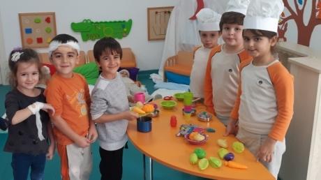 Adana Okyanus Koleji Okul Öncesi Yıldızlar Grubu Drama Etkinliğinde