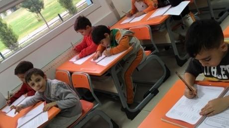 Adana Okyanus Koleji Okul Öncesi Yıldızlar Grubu İlkokula Hazırlık Dersinde