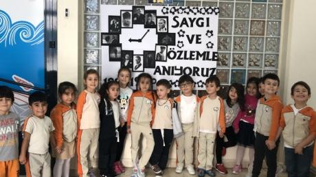 Avcılar Okyanus Koleji A Grubu Öğrencileri 10 Kasım Atatürk'ü Anma Töreni Etkinliğinde