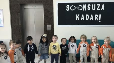 Avcılar Okyanus Koleji C Grubu Öğrencileri 10 Kasım Atatürk'ü Anma Töreni Etkinliğinde