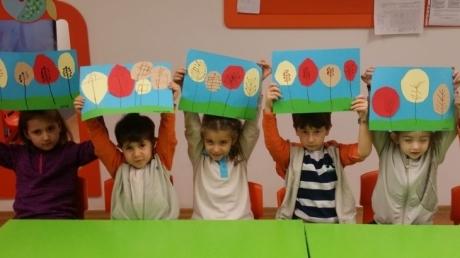 Bahçelievler Okul Öncesi Öğrencileri İlgi ve Yetenek Merkezlerinden Resim Eğitiminde