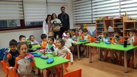 Bahçelievler Okyanus Koleji Okul Öncesi Mercan Grubu Öğrencileri Aile Katılım Etkinliğinde