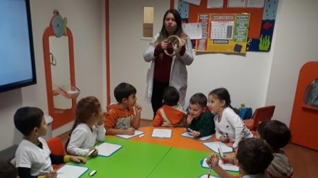 Bahçelievler Okyanus Okul Öncesi Deniz Yıldızları Grubu Öğrencileri Okuma- Yazmaya Hazırlık Eğitiminde
