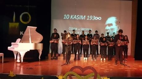 Bahçeşehir Okyanus Koleji 10 Kasım Töreni