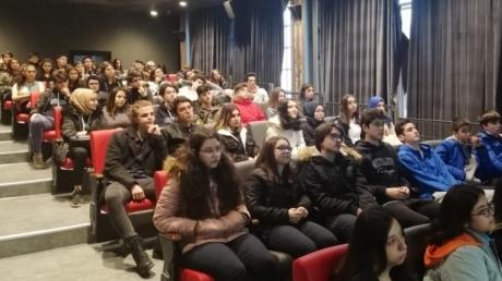 Bayrampaşa Okyanus Anadolu ve Fen Lisesi Öğrencileri Bilgi Üniversitesinde