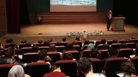 Bayrampaşa Okyanus Anadolu ve Fen Lisesi Öğrencileri Biruni Üniversitesinde