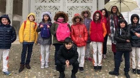 Bayrampaşa Okyanus Koleji 4. Sınıf Öğrencileri Dolmabahçe Sarayı'na Yapılan Geziye Katıldılar