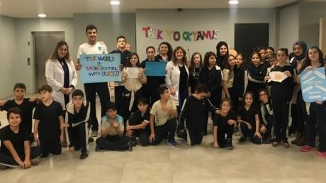Bayrampaşa Okyanus Koleji Ortaokulu 6. 7. ve 8. Sınıf Öğrencilerimiz  Talk to Okyanus Etkinliğini 28 Kasım Çarşamba günü gerçekleştirdi.