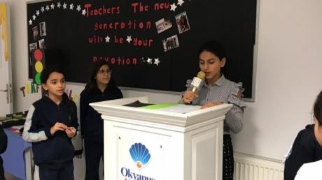 Beykent Okyanus Koleji Öğrencileri ''Talk To Okyanus'' Etkinliğini Gerçekleştirdi.