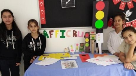 Beykent Okyanus Koleji Ortaokul Öğrencileri İngilizce Trafik Kurallarını Öğrendi
