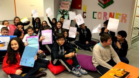 Beykent Okyanus Koleji Ortaokulda Language Day Etkinliği Gerçekleştirildi