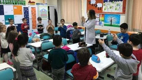 Beylikdüzü Okyanus Koleji Anaokulu Öğrencileri İlkokul Hazırlık Dersine Başladı
