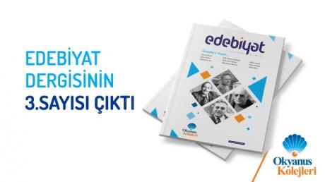 Edebiyat Dergisi 3. Sayı Çıktı!