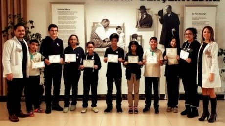 Eryaman Okyanus Koleji Ortaokul Kademesinde Haftanın Matematikçileri Belirlendi.