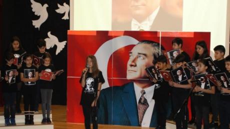 Eryaman Okyanus Koleji Ulu Önder Mustafa Kemal ATATÜRK'ü andı.