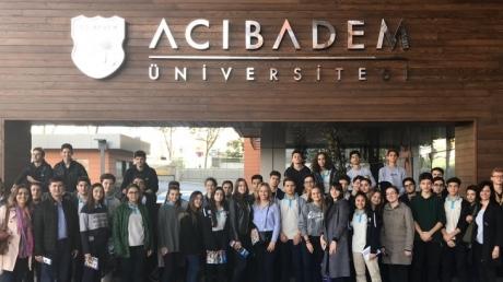 Fatih Okyanus Koleji Anadolu Lisesi Sağlık ve Mühendislik Bölüm Tanıtım Etkinliği