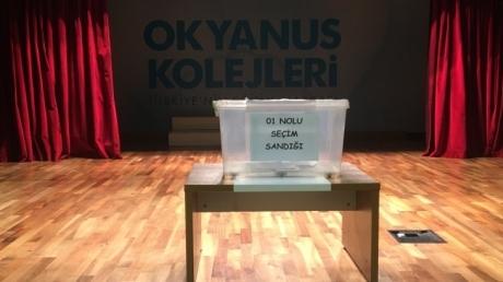 Fatih Okyanus Koleji'nde Ortaokul Kademesinde Seçim Heyecanı!