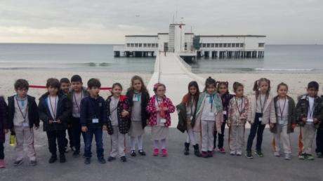 Güneşli Okyanus İlkokulu 1.Sınıf Öğrencileri Florya Atatürk Deniz Köşkü'nde