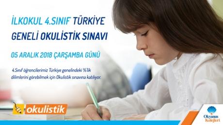 İlkokul 4.Sınıf Türkiye Geneli Okulistik Sınavı