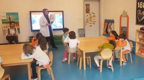 İncek Okulöncesi Gezegenler Sınıfı Sosyal Beceri Derslerini Keyifli Bir Şekilde İşlemeye Devam Ediyor.