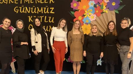 İncek Okyanus Anaokulu Öğretmenleri 'Öğretmenler Günü' Kutlaması