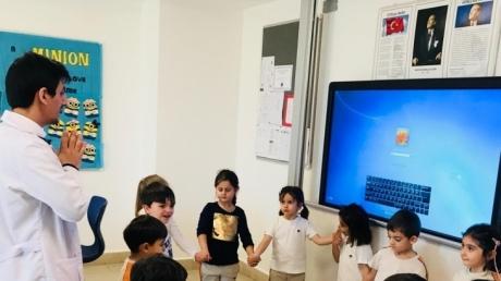 İncek Okyanus Yıldızlar Grubu İlkokula Hazırlık Derslerine Başladılar