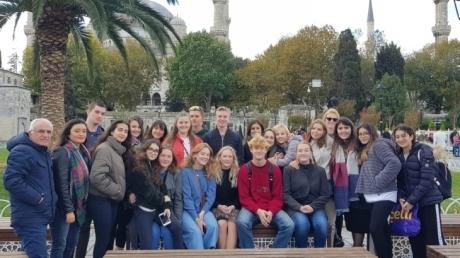 Kemerburgaz Okyanus Koleji'nin Danimarka'dan Ziyaretçileri Vardı…