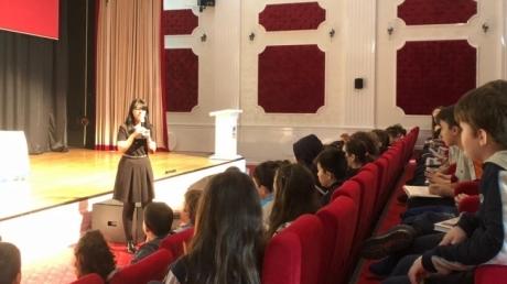 Kemerburgaz Okyanus Koleji Ortaokulunda Yazar Söyleşisi