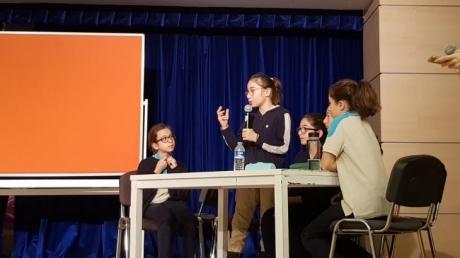 Kemerburgaz Okyanus Koleji V. Geleneksel Münazara Turnuvası Çeyrek Final Ön Elemesi Yapıldı