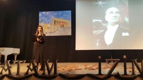 Atatürk'ü Anma Töreni