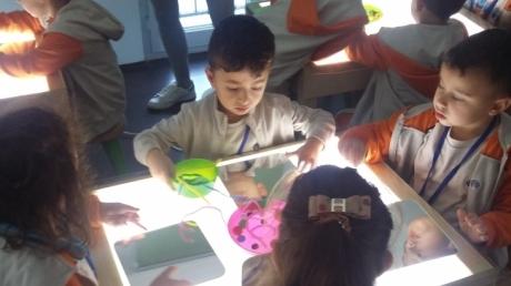 Okul Öncesi Öğrencileri Masal Evi Çocuk Gelişim Merkezinde