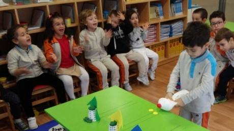 Okul Öncesi İnciler Grubu Oyun Dersinde