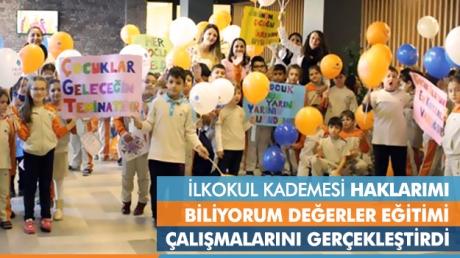 Okyanus İlkokul Öğrencileri 20 Kasım Dünya Çocuk Hakları Gününü Kutladı