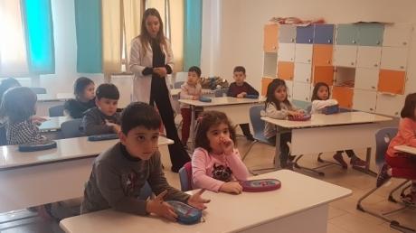 Okyanus Koleji İncek Kampüsü Okulöncesi Gezegenler Sınıfı İlkokuldaki İlk Dersini İşledi.