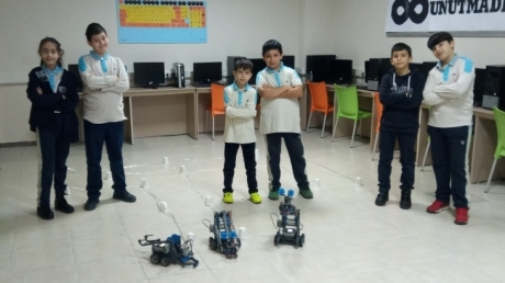 Okyanus Kolejlerinde ROBOTİK KODLAMA