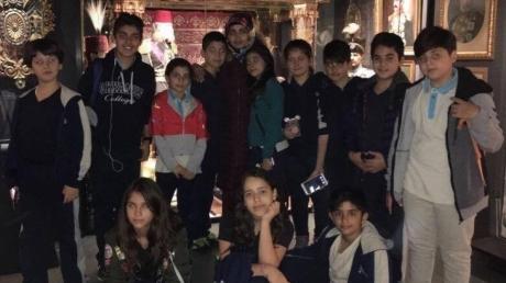 6. Sınıf Öğrencilerimiz Hisart Canlı Tarih ve Diorama Müzesi'nde