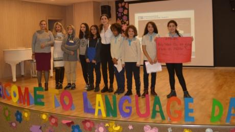 Ortaokul Öğrencileri LANGUAGE DAY Etkinliğinde