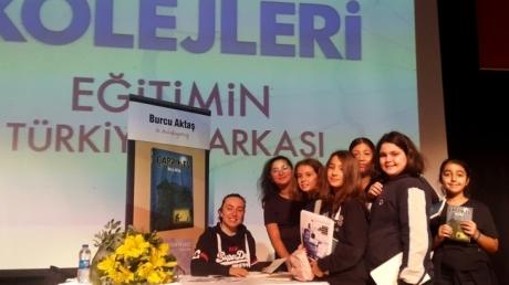 Ortaokul Öğrencileri  Yazarlarla Buluşmaya Devam Ediyor